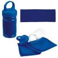 Sporthandtuch Sporty blau