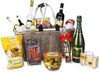 Präsentset: Geschenkkorb XXL - Einkaufskorb mit 14 leckeren Produkten