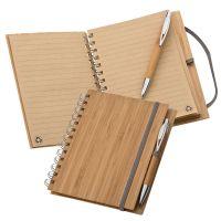 Notizbuch mit Bambuscover