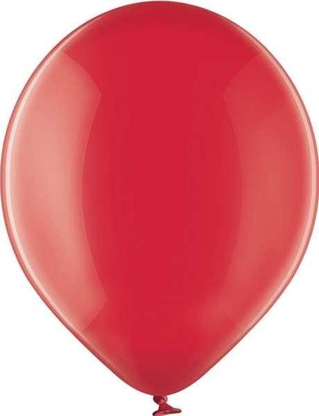 Luftballons, kristallfarben, 90/100 mit 1c-Werbedruck