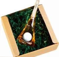 Präsentset Golfballflasche Junior Grappa