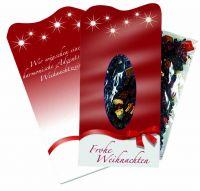Winterzeit-Teepäckchen, 1-4 c Digitaldruck inklusive