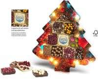 Schokini Weihnachtsbaum Standard mit Logodruck