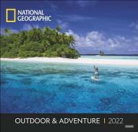 Wandkalender Outdoor & Adventure National Geographic