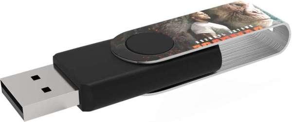 USB Twister MaxPrint Premium-USB-Chip mit 30 Jahren Garantie 128 GB