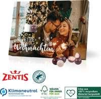 Tisch-Adventskalender Zentis Business, Klimaneutral, FSC®, Inlay aus 100% recyceltem Material