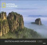 Wandkalender Deutschlands Naturparadiese National Geographic