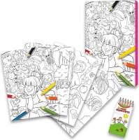 Malbuch-Set, nach Ihren Wünschen gestaltet