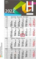 Kalender Budget 4 x.press