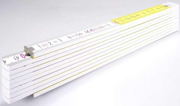 Holz-Gliedermaßstab Serie 400 2m