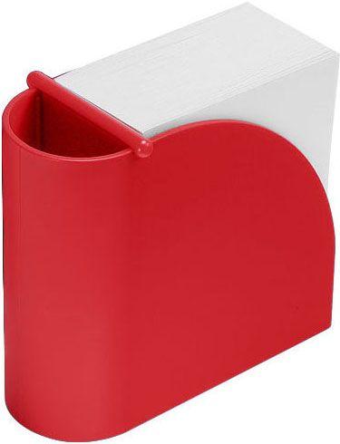 Designer-Zettelbox mit integriertem Köcher