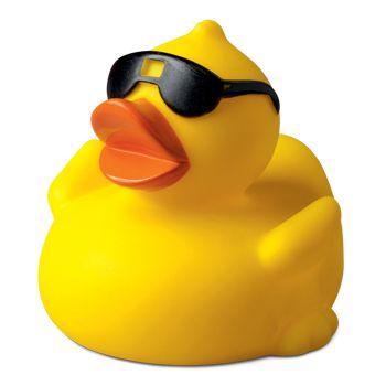 Quietsche-Ente mit Sonnenbrille