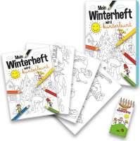 Malbuch Set Winter