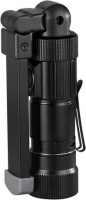 Arbeitslampe Multifunktion mit Akku, Magnet und 5 Lichtmodi schwarz