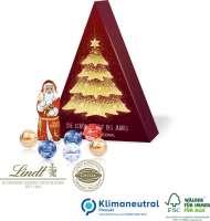 Präsent Tannenbaum mit Lindt Schokoladenmischung, Klimaneutral, FSC®