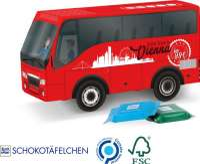 Bus Präsent Ritter SPORT Schokotäfelchen
