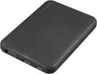 5.000 mAh Powerbank mit Softtouch, USB Typ C und vierstufiger Ladestandsanzeige