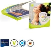Werbekarte Midi Meßmer Teebeutel Energie, vegan