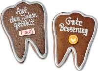 Zahn aus Lebkuchen