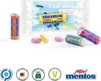 Werbeträger Mentos Mini Fruit Mix, kompostierbar