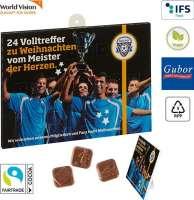 Fußball-Schoko-Adventskalender BUSINESS