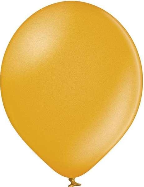 Luftballons, metallicfarben, 100/110 mit 1c-Werbedruck