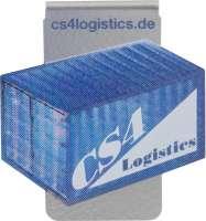 Axionclip - die spezielle Büroklammer, Variante 06, mit Digitaldruck