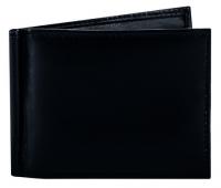 Kompaktes RFID Leder-Etui mit Geldscheinklammer und Kartenfächern