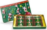 Geschenkartikel - Präsentartikel: Schokoladendose Merry Christmas