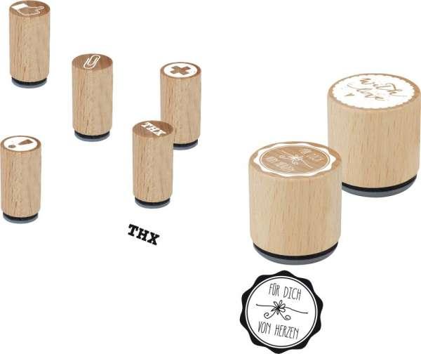 Mini Woodies Stempel