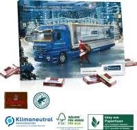 Tisch-Adventskalender Sarotti Business Exklusiv Organic, Klimaneutral, FSC®, Inlay aus Papierfaser