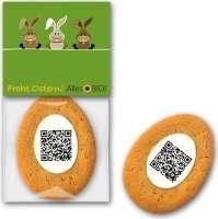 Ostercookie mit QR Code