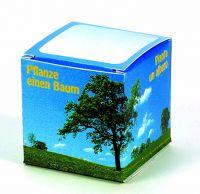 Würfel Baum Robinie (4-sprachig), 1-4 c Digitaldruck inklusive blau, grün