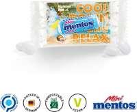 Werbeträger Mentos Mini Mint, kompostierbar
