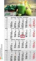 Wandkalender Budget 4 Recycling