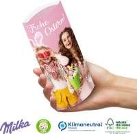Kissenverpackung mit Milka Schokolade, Klimaneutral, FSC®