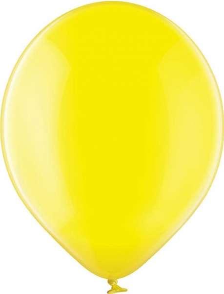 Luftballons, kristallfarben, 100/110 mit 1c-Werbedruck