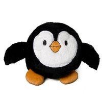 Schmoozies® Pinguin, das Kugeltier, Unterseite aus Mikrofaser ist vielseitig einsetzbar.