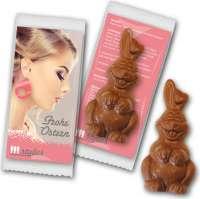 Osterhase Schokolade individuell