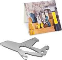 Präsentartikel: ROMINOX® Key Tool Airplane - Flugzeug (18 Funktionen) im Motiv-Mäppchen Werkzeug
