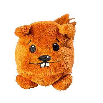 Schmoozies® Eichhörnchen, das Kugeltier, Unterseite aus Mikrofaser ist vielseitig einsetzbar.