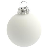 Weihnachtskugel 6 cm einzeln in Faltkarton mit 4-5fbg. Tampondruck