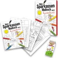 Malbuch Set Sparkasse