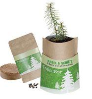 Natur-Bag Weihnachtsbaum, 1-4 c Digitaldruck inklusive