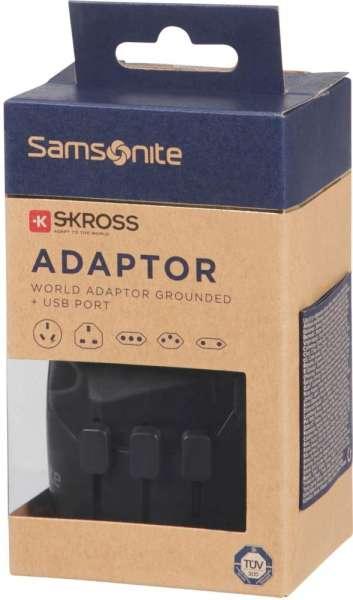 Samsonite WORLDWIDE ADAPTER + USB