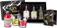 Geschenkset - Präsenteset: Gin-Tasting, 3 exklusive Gin-Sorten
