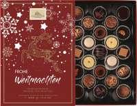 Weihnachtspräsent Trüffel und Pralinen-Auslese mit Einschieber