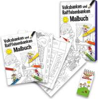 Malbuch Set Volk- u. Reiffeisenbanken