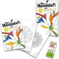 MalbuchSet Mandala
