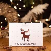 Premium Adventskalender mit Weihnachtspralinen